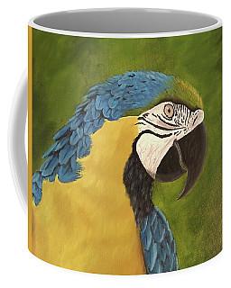 Blue And Gold Mccaw Coffee Mug