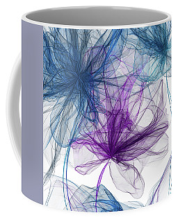 Blue And Purple Artwork  Coffee Mug