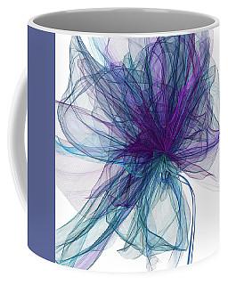 Blue And Purple Art  Coffee Mug