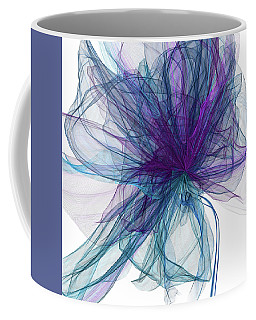 Blue And Purple Art  Coffee Mug