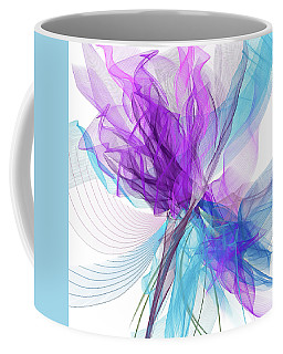 Blue And Purple Art II Coffee Mug