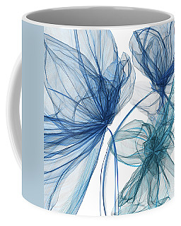Blue And Turquoise Art Coffee Mug