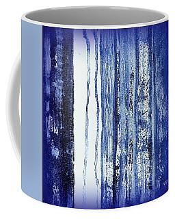 Blue And White Rainy Day Coffee Mug