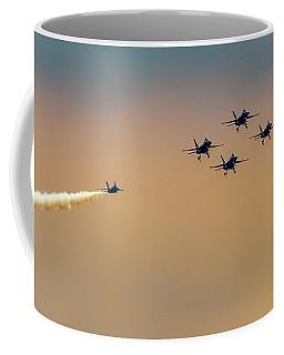 Blue Angels Pass Through Coffee Mug