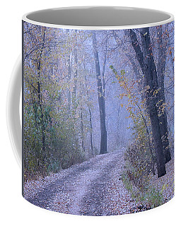 Blue Autumn Coffee Mug
