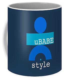 Blue Babe Coffee Mug