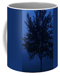 Blue Cherry Tree Coffee Mug