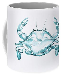 Blue Crab Turcoise Coffee Mug