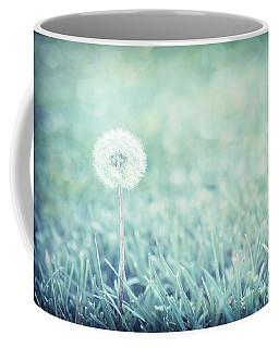 Blue Dandelion Coffee Mug