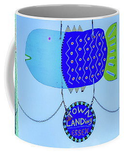 Coffee Mug featuring the photograph Blue Fish Art by Michael Hubley