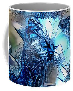 Blue Himmy Cat Coffee Mug