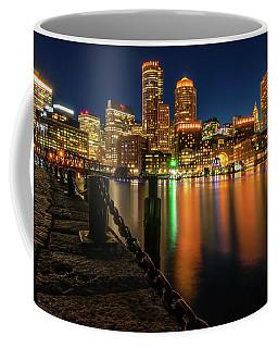 Blue Hour At Boston's Fan Pier Coffee Mug