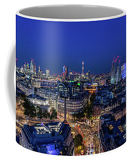 Coffee Mug featuring the photograph Blue Hour In London by Stewart Marsden