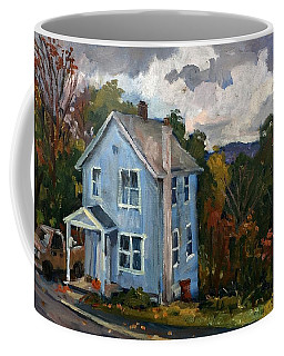 Blue House October Coffee Mug