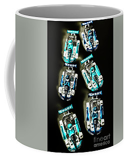 Blue Racers Coffee Mug