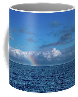 Blue Rainbow Horizon Coffee Mug
