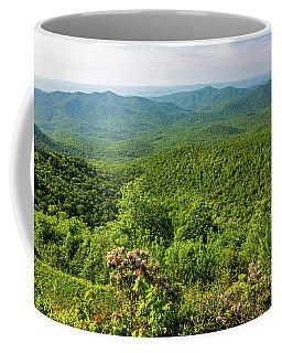 Blue Ridge Mountain Overlook Coffee Mug