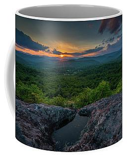 Blue Ridge Mountain Sunset Coffee Mug