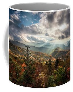 Blue Ridge Mountains Asheville Nc Scenic Autumn Landscape Photography Coffee Mug