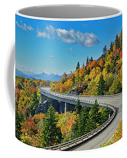 Coffee Mug featuring the photograph Blue Ridge Parkway Viaduct by Meta Gatschenberger
