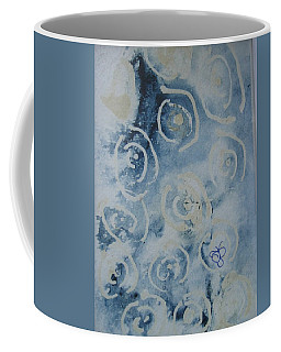 Blue Spirals Coffee Mug