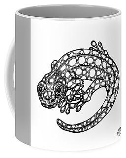 Blue Spotted Salamander Coffee Mug