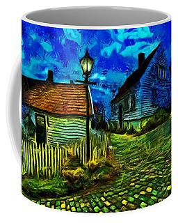 Blue Town Coffee Mug