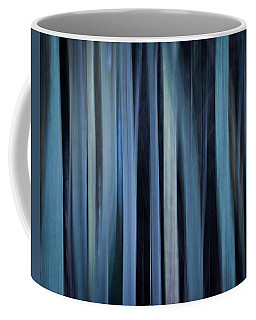 Blue Trees 1 Coffee Mug