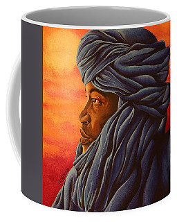 Blue Tuareg Coffee Mug