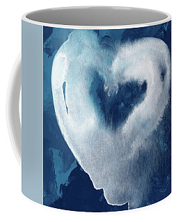 Blue Valentine- Art By Linda Woods Coffee Mug