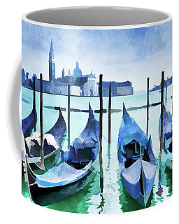 Blue Venice Coffee Mug