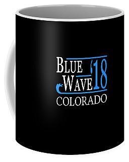 Blue Wave Colorado Vote Democrat 2018 Coffee Mug