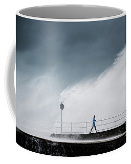 Blue Waves Coffee Mug