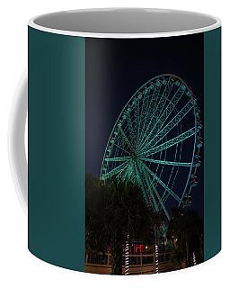 Blue Wheel Coffee Mug