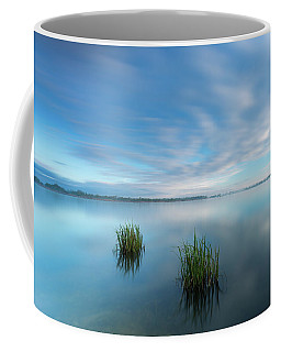 Blue Whirlpool Coffee Mug