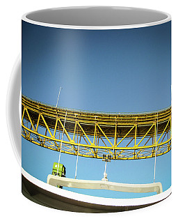 Coffee Mug featuring the photograph Blue, Yellow And Green by Juan Contreras