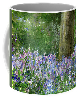 Bluebells Under The Trees Coffee Mug