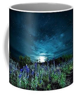 Bluebonnet Moonrise Coffee Mug