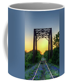 Bluebonnets On The Abandoned Railroad Coffee Mug