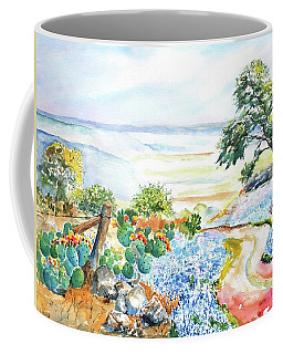 Bluebonnets - Texas Hill Country In Spring Coffee Mug