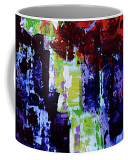 Coffee Mug featuring the painting Blurry Vision  by Arttantra