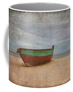 Coffee Mug featuring the digital art Boat by Christopher Meade