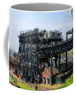 Boat Lift Coffee Mug