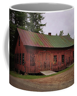 Coffee Mug featuring the digital art Boat Shop by Christopher Meade