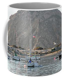 Boats In Morro Bay Coffee Mug