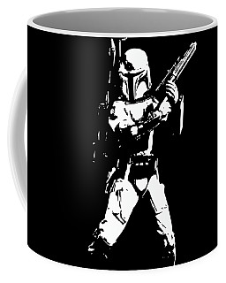 Boba Fett Minimalistic Pop Art Coffee Mug
