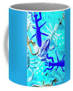 Bohemian Blue Coffee Mug