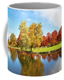 Coffee Mug featuring the photograph Boise Fall Foliage by Dart and Suze Humeston