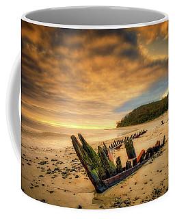 Coffee Mug featuring the photograph Bones, Ada K. Damon  by Michael Hubley