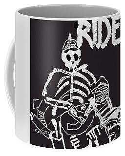 Boney Biker Coffee Mug